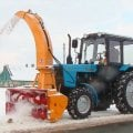 Shnekorotor, snow Cleaning, Snowplows