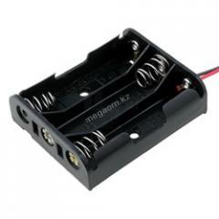 Держатель батареек 3*AA с проводами. Корпус