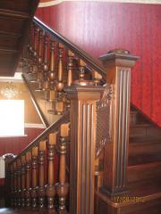 Лестницы деревянные купить в Павлодаре, заказать