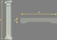 Pkb 10 pilasters
