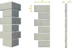 Rustic stone angular