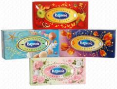 Napkin Karina in a box (cosmetic)
