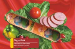 Колбаса полукопченая Бурабай