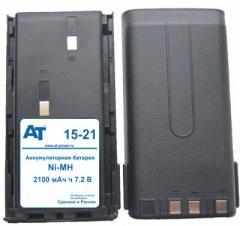 Аккумулятор AKNB-15H / 6НМГ-2,1 (Ni-MH, 7.2В, 1600мАч)