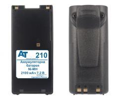Аккумулятор BP-208N (батарейный отсек) / BP-209N / BP-210N / BP-210N-FM / BP-211N / BP-222N (Ni-MH, 7.2В, 2100мАч)