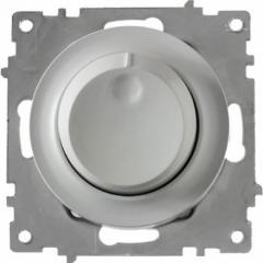 Светорегулятор 600 W для ламп накаливания и галогенных ламп, цвет серый (серия Florence)