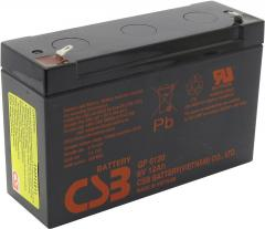 Свинцово-кислотный аккумулятор GP 6120