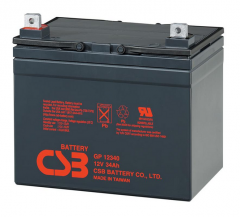 Свинцово-кислотный аккумулятор GP 12340