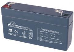 Свинцово-кислотный аккумулятор GS 6-1.3