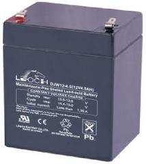 Свинцово-кислотный аккумулятор GS 12-4.5