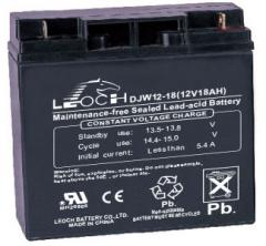 Свинцово-кислотный аккумулятор GS 12-18