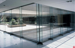 Glass toughened