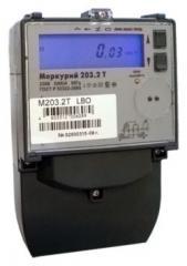 Счетчик электроэнергии однофазный многотарифный Меркурий 203.2Т GBO