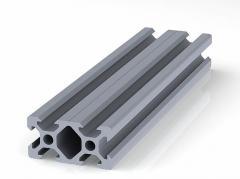 Профиль конструкционный 20 х 40 (ан. серебро)