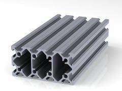 Профиль конструкционный 20.40 х 80 (ан. серебро)