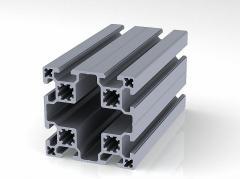 Профиль конструкционный 80 х 80 (ан. серебро)