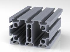 Профиль конструкционный 80 х 120 (ан. серебро)