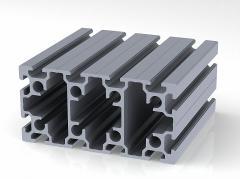 Профиль конструкционный 80 х 160 (ан. серебро)