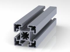 Профиль конструкционный 45 х 45 (ан. серебро)
