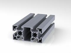 Профиль конструкционный 45 х 90 (ан.серебро)