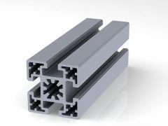 Профиль конструкционный 50 х 50 (ан. серебро)