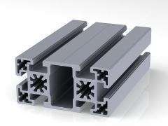Профиль конструкционный 50 х 100 (ан. серебро)