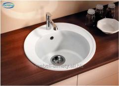 Kitchen sinks from an artificial stone of POLYGRAN