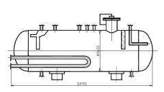 Дегазатор конденсата В-202