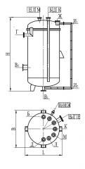 Аппарат вертикальный разъемный типа ВЭЭ