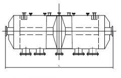 Реверсивный каталитический реактор РКР 3-3У-01 Ø1600 мм.