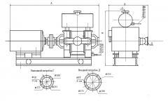Насос водокольцевой вакуумный ВВН1-25М1