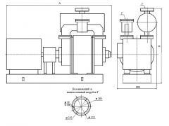 Насос водокольцевой вакуумный ВВН2-50-01