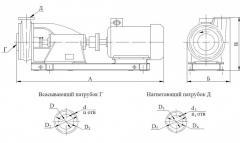 Агрегаты электронасосные фекальные типа НФГ