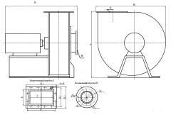 Вентиляторы радиальные центробежные
