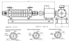 Агрегаты электронасосные типа НЦСГА
