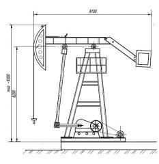 Станок-качалка СК UZ-1-8-3,5-4000