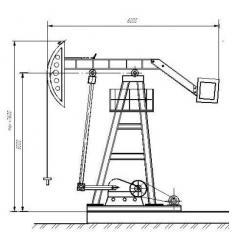Станок-качалка СК UZ-1-10-3,0-5600