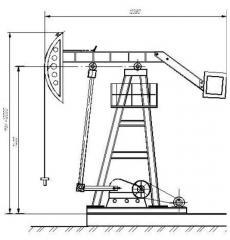 Станок-качалка СК UZ-1-12-5,0-5600