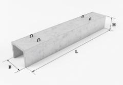 Лоток теплотрассы Л6-8 (3м)