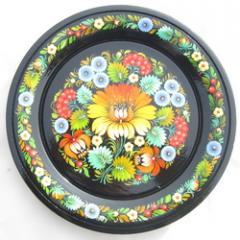 Расписные тарелки сувенирные