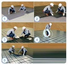 Systems of heating floor HEAT-ONE
