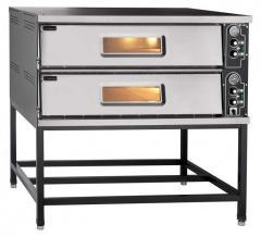 Печь электрическая для пиццы ПЭП-6х2 (двухярусная на подставке) 