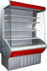 Пристенная холодильная витрина CARBOMA CRETE