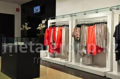 Racks for clothing stores