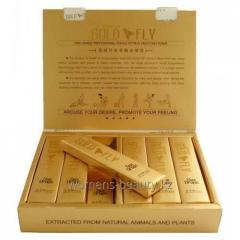 Gold Fly (Золотая Шпанская Мушка) - Возбуждающие капли для женщин