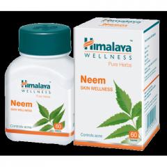 Ним (Neem Himalaya),60 таб,  помогает поддерживать кожу здоровой