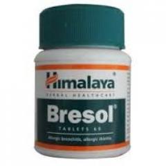 Бреcол (Bresol Himalaya), 60 таб, средство для лечения и профилактики бронхиальной астмы