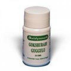 Гокшуради Гуггул (Gokshuradi Guggulu Baidyanath), 80 таблеток, заболевания мочеполовой системы