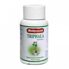 Трифала Гуггул Baidyanath, при заболеваниях крови, нарушении функции кишечника, нервном истощении