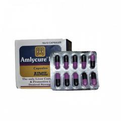 Препарат Амликар ДС (Amlycure DS, Aimil), 20 таблеток, гепатопротектор